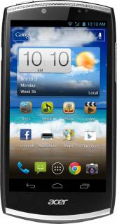 Смартфон Acer Cloud Mobile S500 Black HM.H9WEU.001