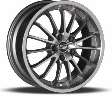 Колесные диски MSW MSW 21 MATT GREY FULL POLISHED W1917200178