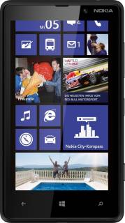 Смартфон Nokia Lumia 820 Black 0022J16