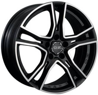 Колесные диски OZ ADRENALINA MATT BLACK + DIAMOND-CUT W8501220454