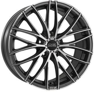 Колесные диски OZ ITALIA 150, 8, 18, 5x114,30, MATT DARK GRAPHITE DIAMOND CUT W0188420449