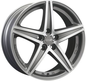 Колесные диски OZ ENERGY, 8, 17, 5x114,30, MATT BLACK + DIAMOND-CUT W8500820454