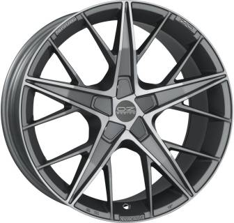Колесные диски OZ QUARANTA, 7, 16, 4x108, MATT BLACK + DIAMOND-CUT W0185020254