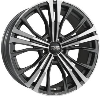 Колесные диски OZ CORTINA, 9,50, 20, 5x112, MATT DARK GRAPHITE DIAMOND CUT W0188320049