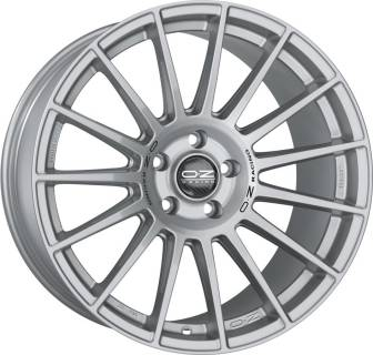 Колесные диски OZ SUPERTURISMO LM MATT RACE SILVER + BLACK LETTERING W0185220319