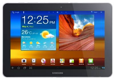 Планшет Samsung Galaxy Tab P7510 10.1 16GB Metallic grey GT-P7510FKD