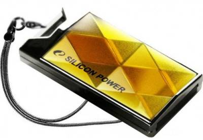 Флеш-память USB Silicon Power Touch 850 64GB Amber SP064GBUF2850V1A