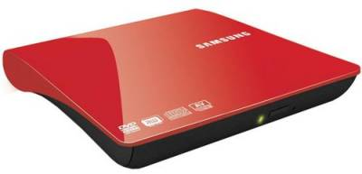 Оптический привод Samsung SE-208DB/TSRS Slim Red USB 2.0 Retail (External)