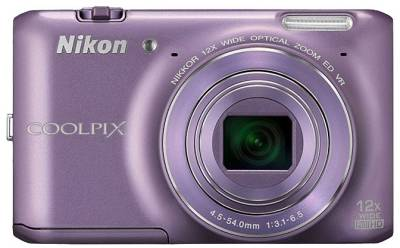 Фотоаппарат Nikon Coolpix S6400 Purple VNA194E1