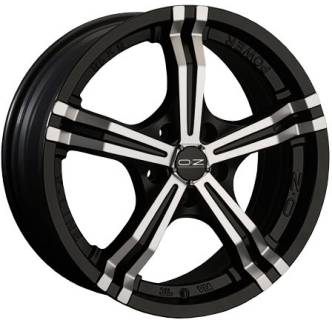 Колесные диски OZ POWER, 8, 17, 5x100, MATT BLACK + DIAMOND-CUT W8500520054