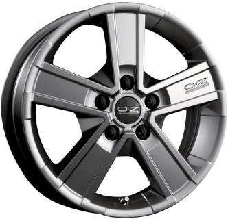 Колесные диски OZ OFF-ROAD 5, 6,50, 16, 5x120, METAL TITANIUM, 48 W0178400864