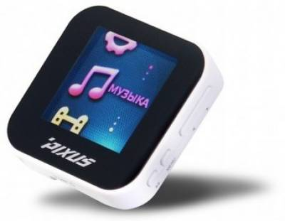 MP3 плеер Pixus EIGHT 4 Gb Black white 4820151450501