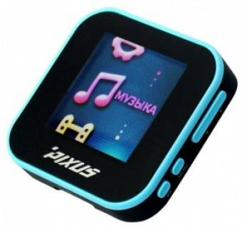 MP3 плеер Pixus EIGHT 4 Gb Black Blue 4820151450549