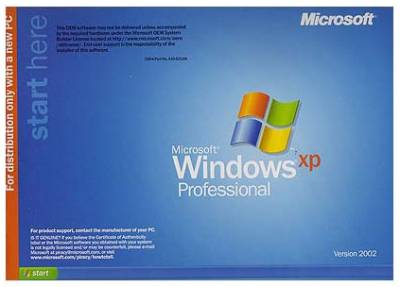 Операционная система Microsoft Windows XP Professional SP1 Rus OEM 32-bit E85-01756