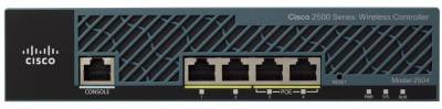 Аксессуар Cisco 2504 Wireless Controller with 15 AP Lic AIR-CT2504-15-K9