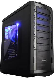 Корпус Zalman MS800 Black Steel