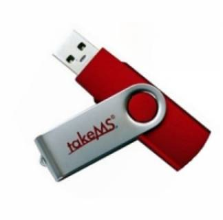 Флеш-память USB TakeMS 4GB Mini Rubber Red 88377
