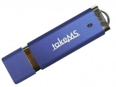 Флеш-память USB TakeMS 4GB Easy II Blue 88367