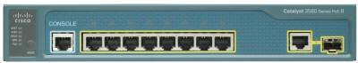 Сетевой коммутатор Cisco Catalyst 3560 Compact 8 10/100 PoE + 1 T/SFP WS-C3560-8PC-S