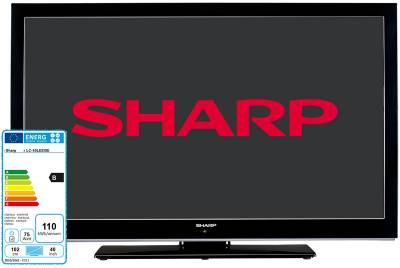 Телевизор Sharp LC40LE530 Black silver LC40LE530EV