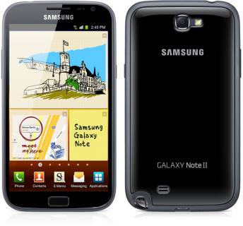 Смартфон Samsung Galaxy Note II black GT-N7100