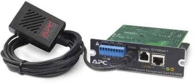 Сетевой адаптер APC Network Management Card with Environmental monitoring and modem AP9618