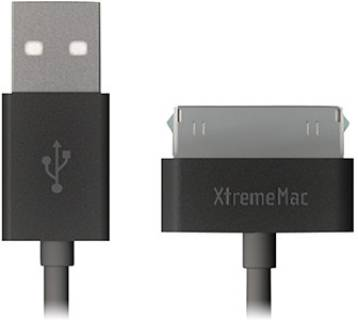 Кабель XTREM CABLES EA XTREMEMAC USB CABLE 30PIN TO USB 4 FOOT CABLE XTM-XCL-4F30USB-03