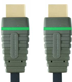 Кабель BANDRIDGE BLUE BVL1202 HDMI High Speed 2m