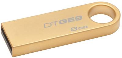 Флеш-память USB Kingston DT GE9 8GB Gold Metal DTGE9/8GB