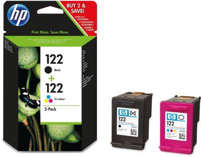 Картридж HP No.122 Black/ Tri-color Combo Pack CR340HE