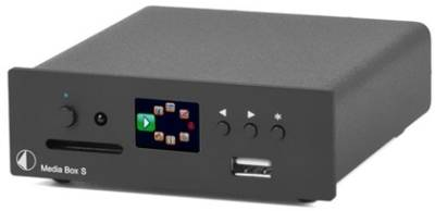HD Media Player PRO-JECT MEDIA-BOX-S-BLACK