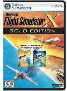 Операционная система Microsoft Flight Sim X-Gold Win32 Russian DVD Case DVD EGC-00057