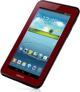 Планшет Samsung Galaxy Tab 2 P3110 8GB Garnet red GT-P3110GRZ