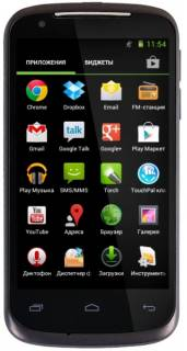 Смартфон Gigabyte GSmart GS202 Black-Brown