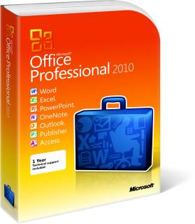 Приложение Microsoft Office 2010 Professional 269-14697
