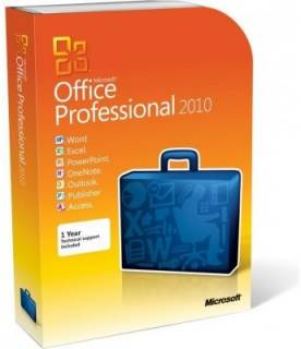 Приложение Microsoft Office 2010 (269-14900) Professional