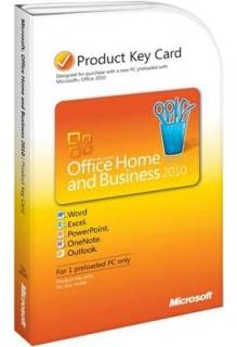 Приложение Microsoft Office 2010 (T5D-00322) Home and Business