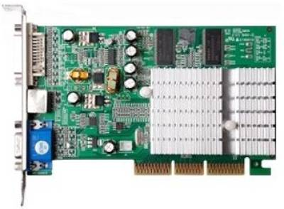 Видеокарта Manli GeForce FX 5500 AGP 256Mb MD55DDBTD