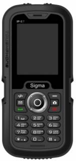Смартфон Sigma X-TREME IP67 Black-Grey