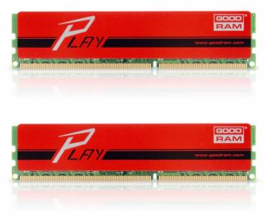 Оперативная память Goodram 8Gb DDR3 1600MHz PLAY Red (2x4GB) GYR1600D364L9/8GDC