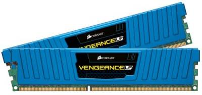 Оперативная память Corsair Vengeance Low Blue 8GB DDR3 2133Mhz (2x4GB) CML8GX3M2A2133C11B