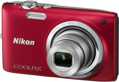 Фотоаппарат Nikon Coolpix S2700 Red VNA302E1