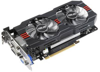 Видеокарта ASUS GeForce GTX650 Ti 2048Mb GTX650TI-OC-2GD5