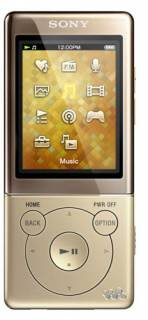 MP3 плеер Sony Walkman NWZ-E474 8GB Gold NWZE474N.EE