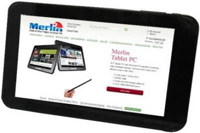 Планшет Merlin Tablet PC 8GB Black