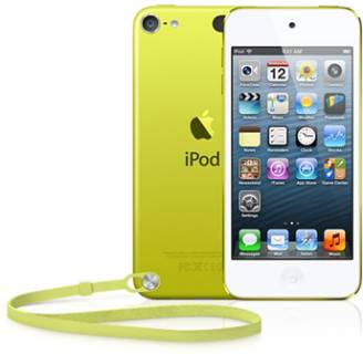 MP3 плеер Apple A1421 iPod Touch 64GB Yellow MD715RP/A
