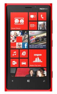 Смартфон Nokia Lumia 920 Red 0023J75