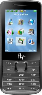 Смартфон Fly TS105 Triple Sim Platinum Silver