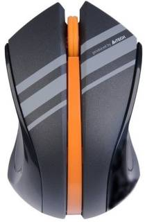 Мышка A4Tech G7-310D-3 Black-Orange Wireless USB Holeless
