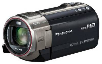 Видеокамера Panasonic HDV Flash HC-V710 Black HC-V710EE-K